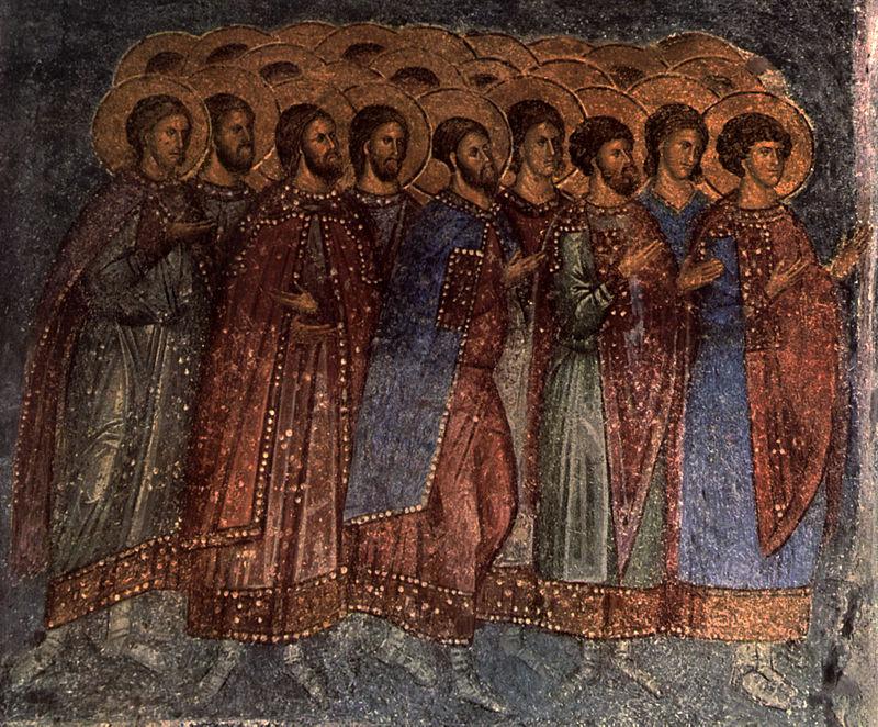 Η τοιχογραφία μέσα στην Εκκλησία της Χodgitria