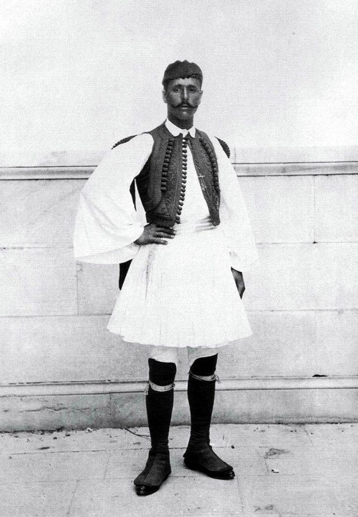 first modern Olympics Greece spyros louis