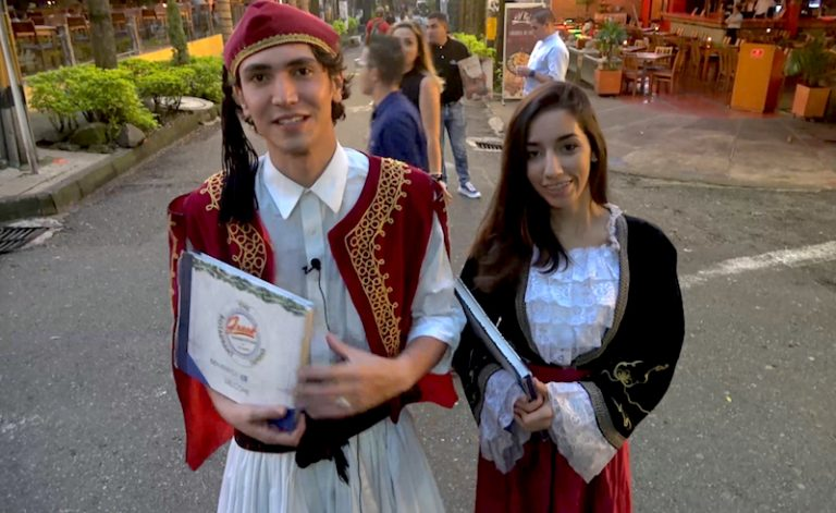 Meet the Greeks of Medellin, Colombia