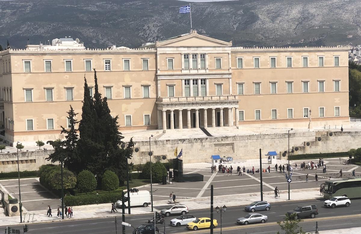 athens syntagma square