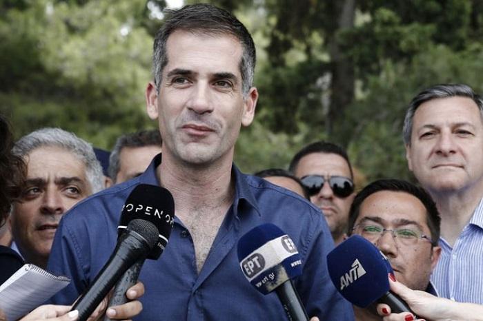 Kostas Bakoyannis Elected New Mayor of Athens