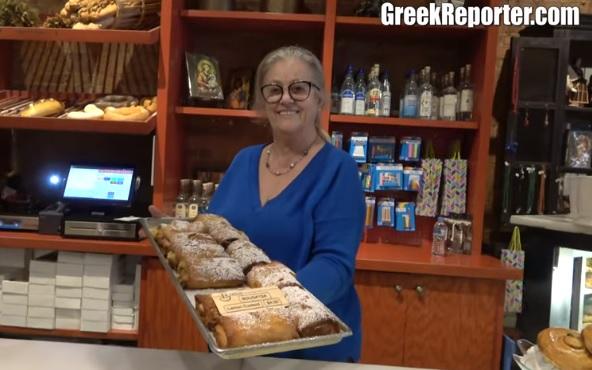 Greek restaurant in Chicago Greektown