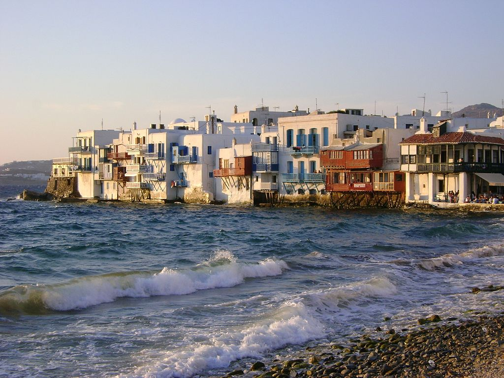 Mykonos greek island