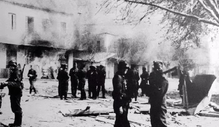 Distomo massacre Nazis