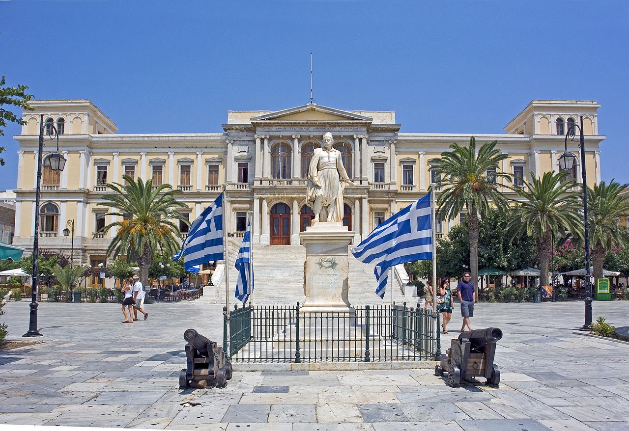 Το ελληνικό νησί της Σύρου
