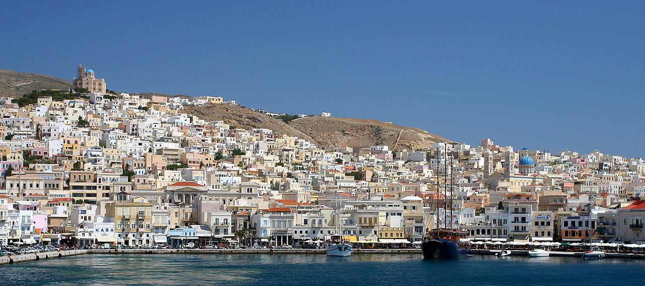 the Greek Island Syros