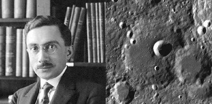 john paraskevopoulos greek astrophysicist crater