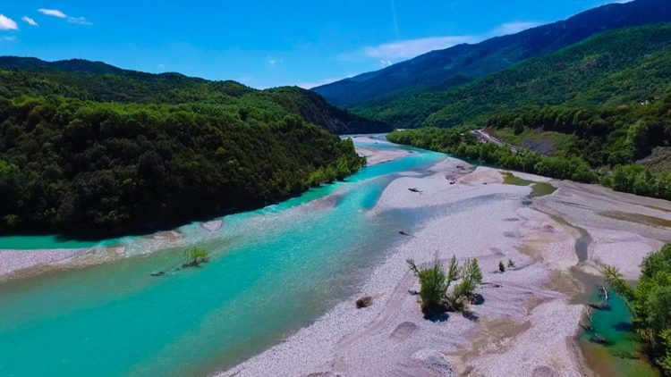 The Spectacular Sandy Beaches of Greece's Acheloos River