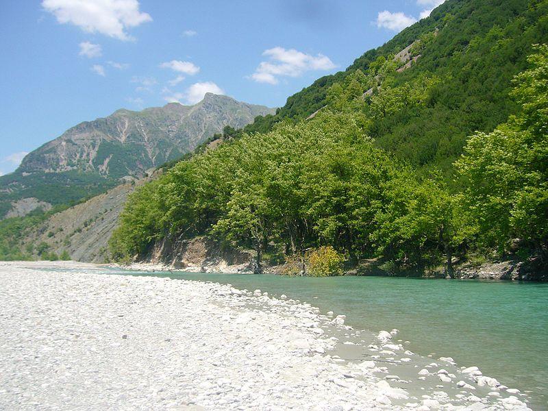 Acheloos river.