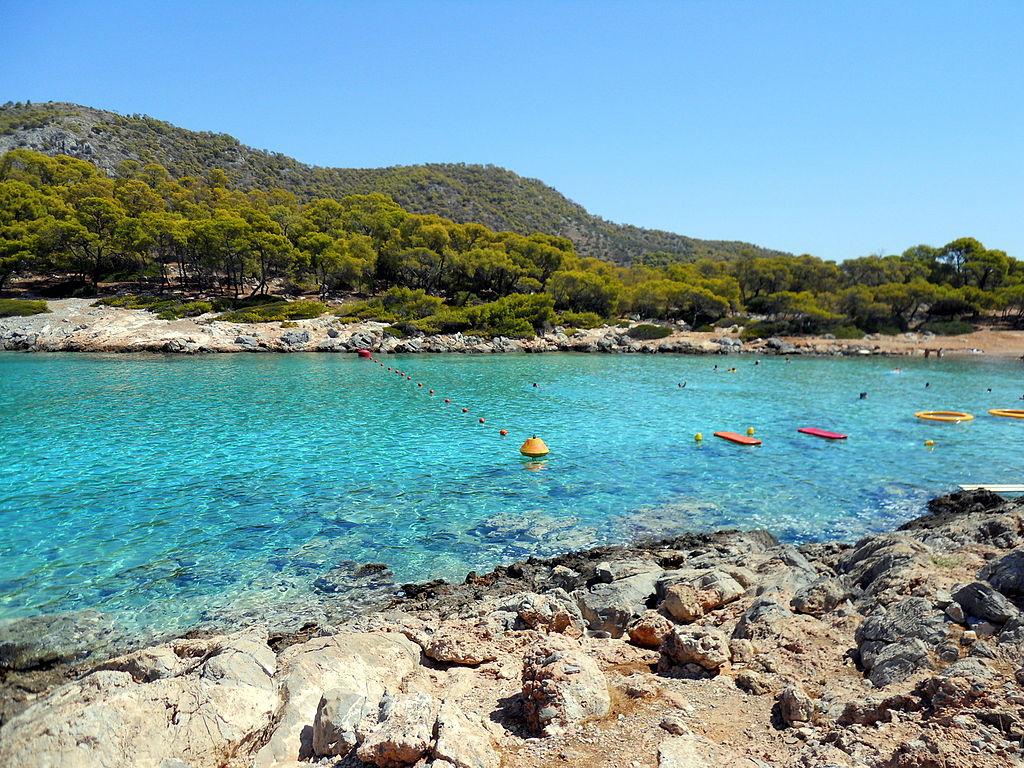 Agistri greek island
