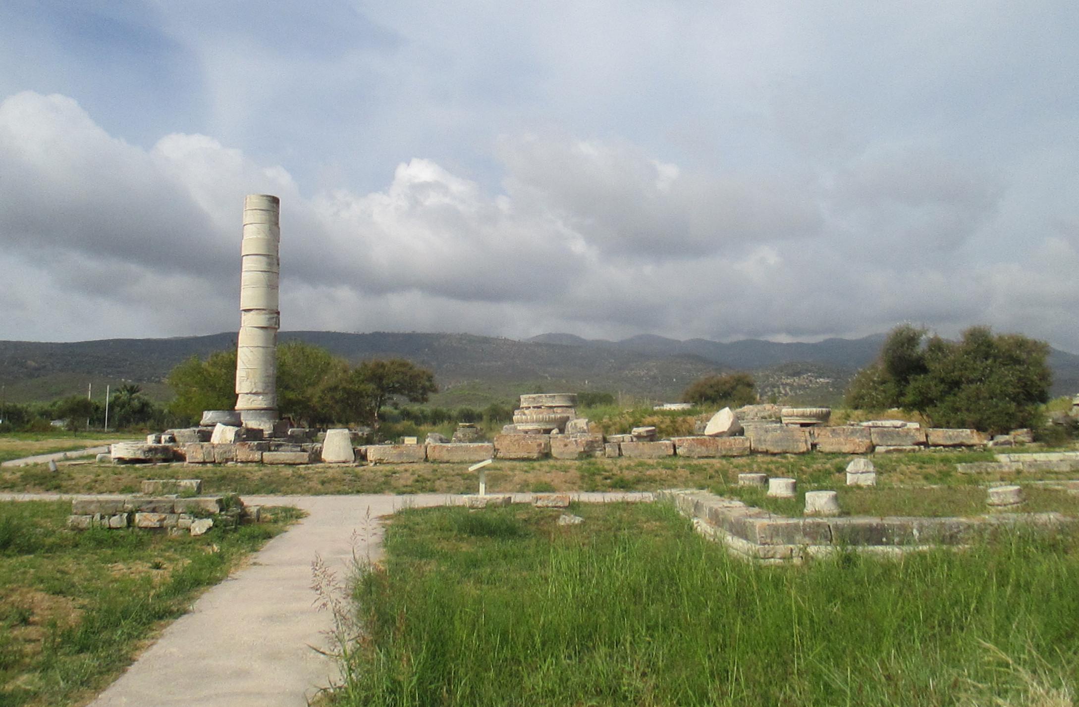 The Heraion of the island of Samos