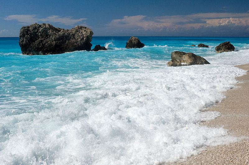 Kalamitsi Beach in Halkidiki