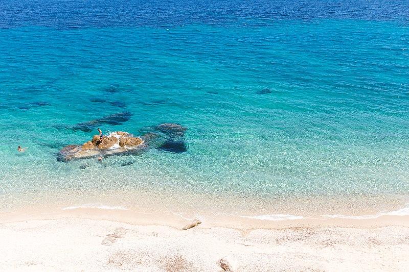 Karydi Beach in Halkidiki
