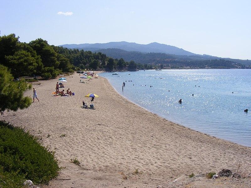 Lagomandra Beach in Halkidiki