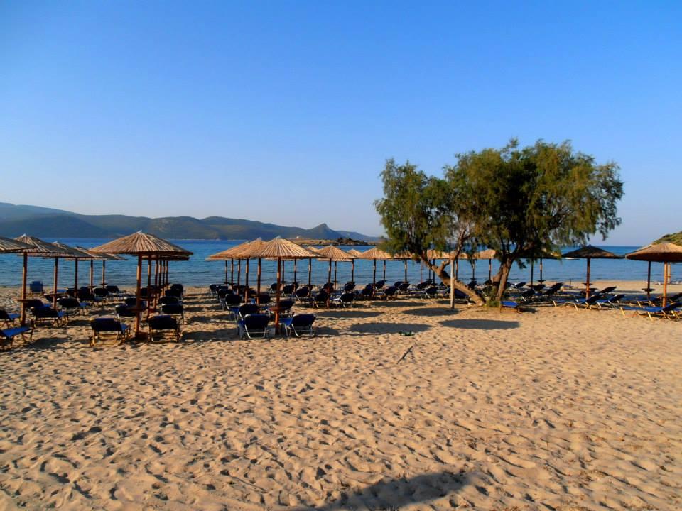 Psili Ammos Beach.