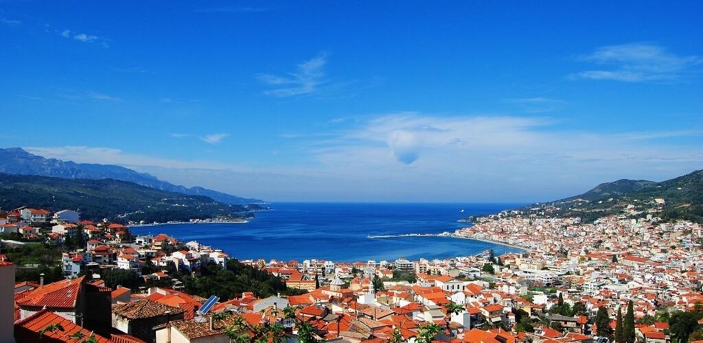 Vathy, the capital of the island of Samos