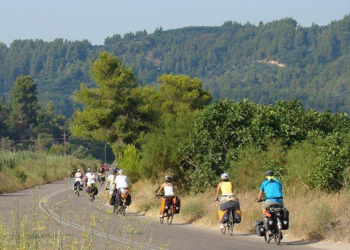 Cycling on the island of Samos