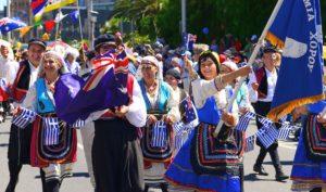 Australia_Day_greeks in parade