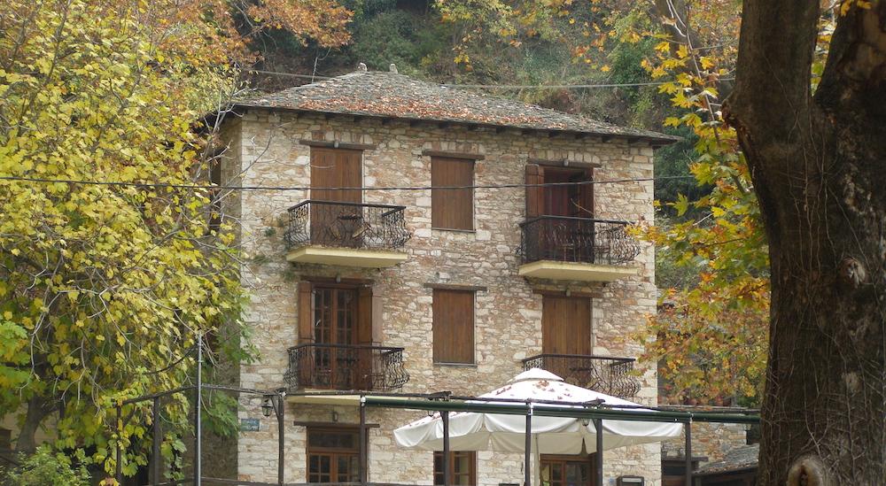 Φθινόπωρο του φθινοπωρινού χωριού