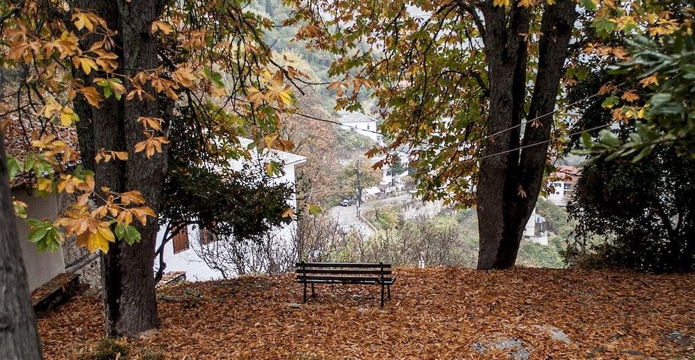 Φθινοπωρινό Χωριό Φθινοπωρινή Ελλάδα
