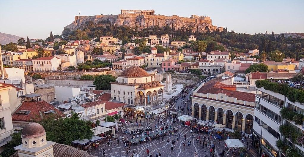 Πλατεία Μοναστηρακίου Ακρόπολη Ιστορία της Αθήνας, ηπειρωτική Ελλάδα