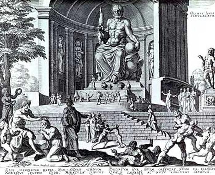 Greek Mystery Zeus Massive Statue