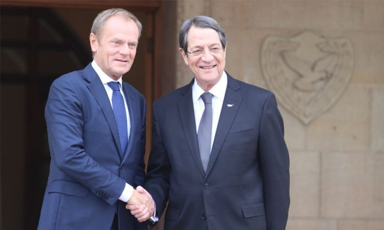 EU President Tusk Calls on Ankara to Cease Activities in Syria and Cyprus' EEZ