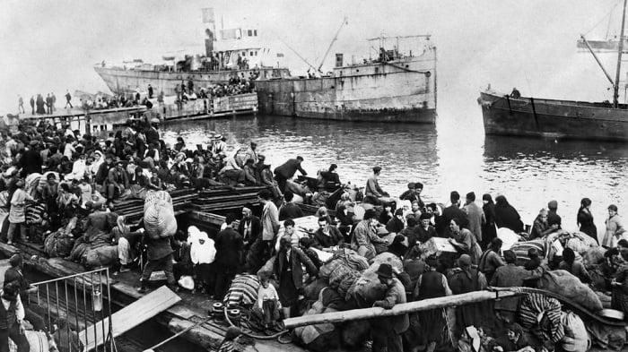 Japanese ship Smyrna catastrophe