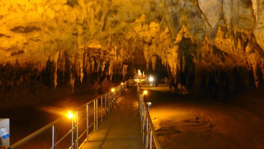 Aggitis River Cave in Drama