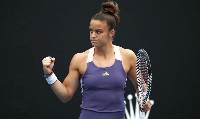 Maria Sakkari Sweeps Through to the Fourth Round of Australian Open