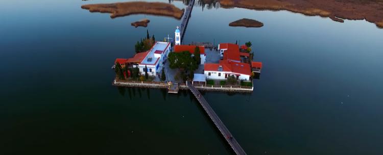 Floating monastery