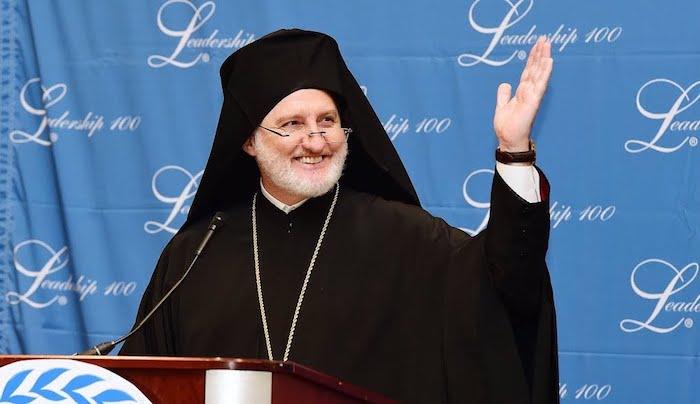 Archbishop Elpidophoros at Leadership 100