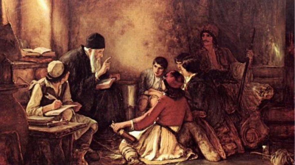Greek Language taught in secret schools