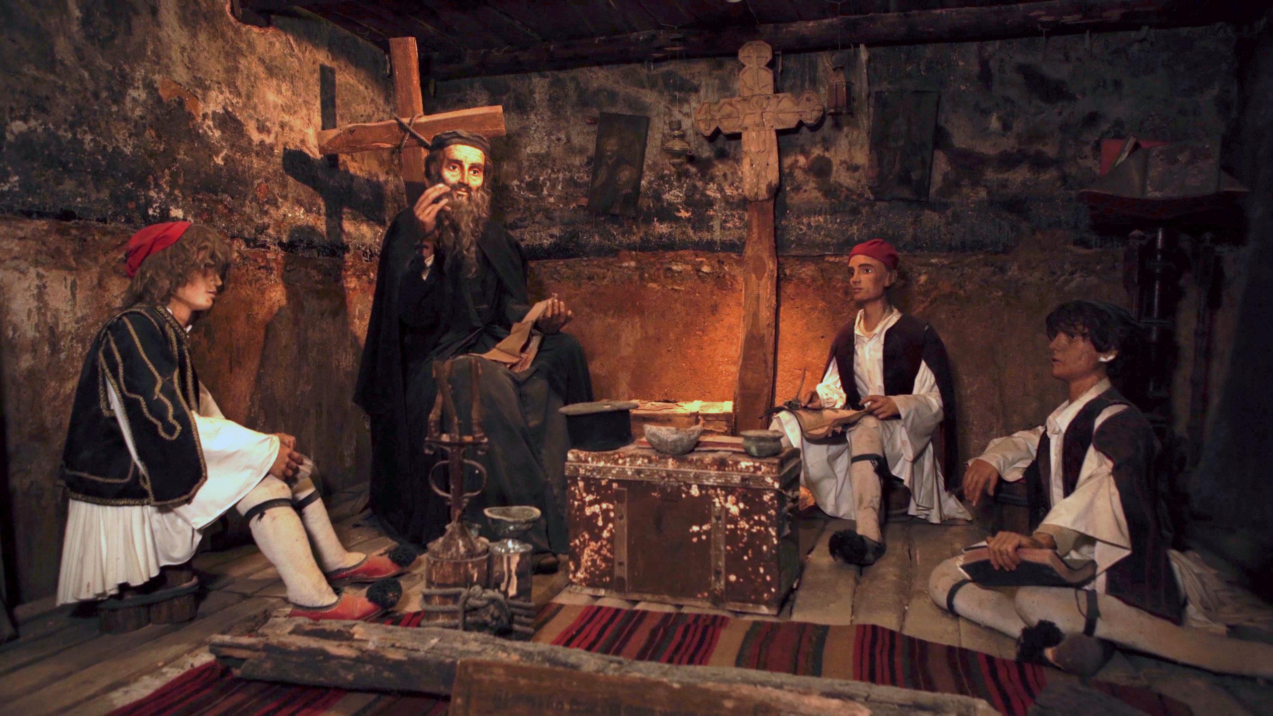 Greek Language taugh by Orthodox Church priests