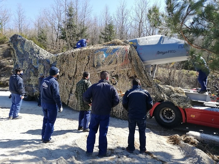 Baltadoros Greece pilot