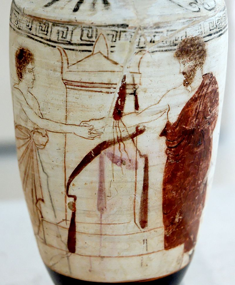 Ancient Greece Handshake