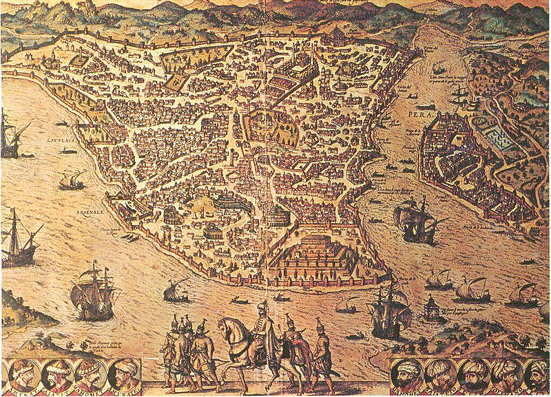 Istanbul, was named Constantinople in Greek