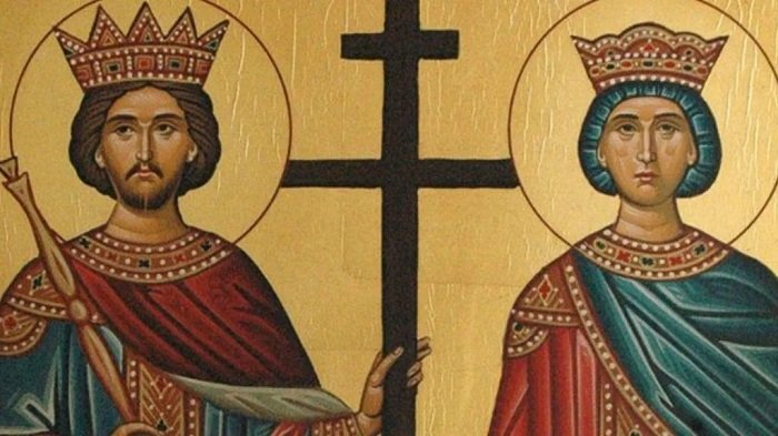 Constantine and Helen