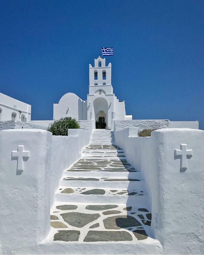 Ten Majestic Aegean Sea Churches Dedicated to the Virgin Mary - Aegean Sea Churches