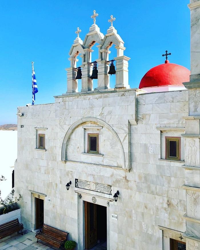 Panagia Tourliani, Mykonos - Aegean churches