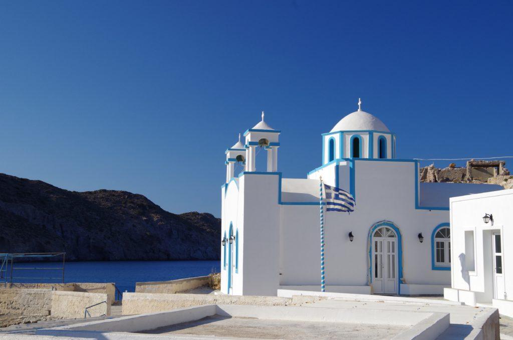 Ten Majestic Aegean Sea Churches Dedicated to the Virgin Mary