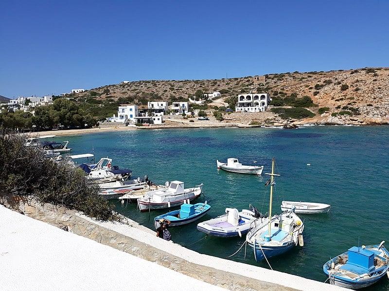 Το ελληνικό νησί της Ηρακλειάς
