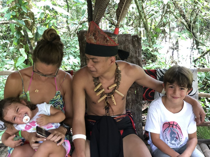 Globetrotting Greek Family