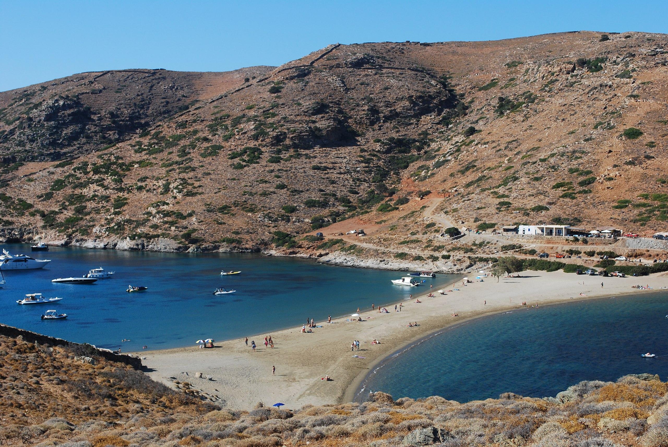 Secluded greek islands