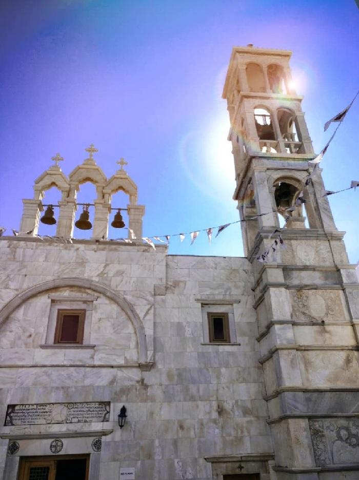 Panagia Episkopi Church, Santorini.