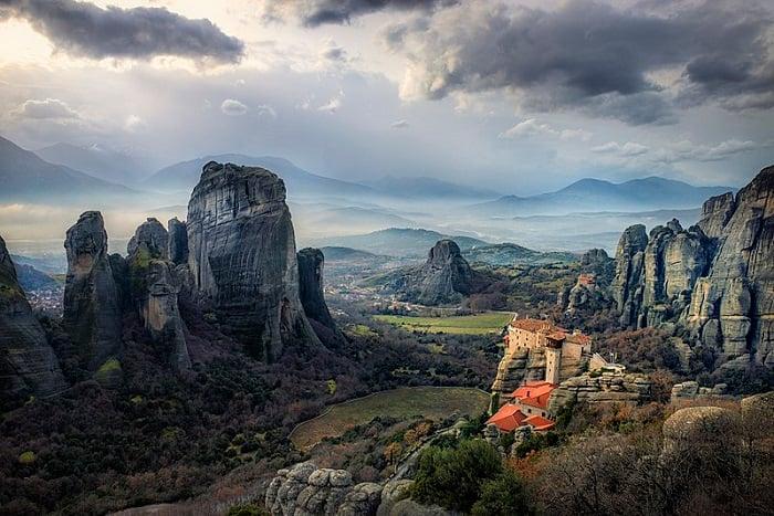 winter in greece travel seasons