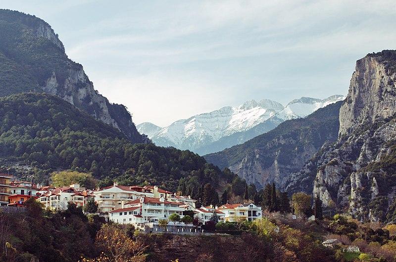 το βουνό Όλυμπος
