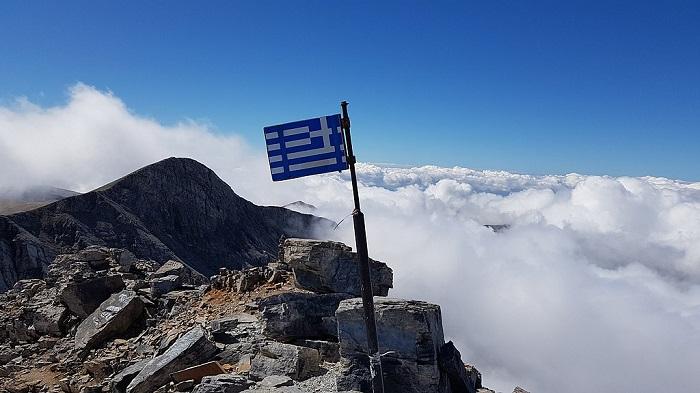 Olympus, mountain of Greek Gods