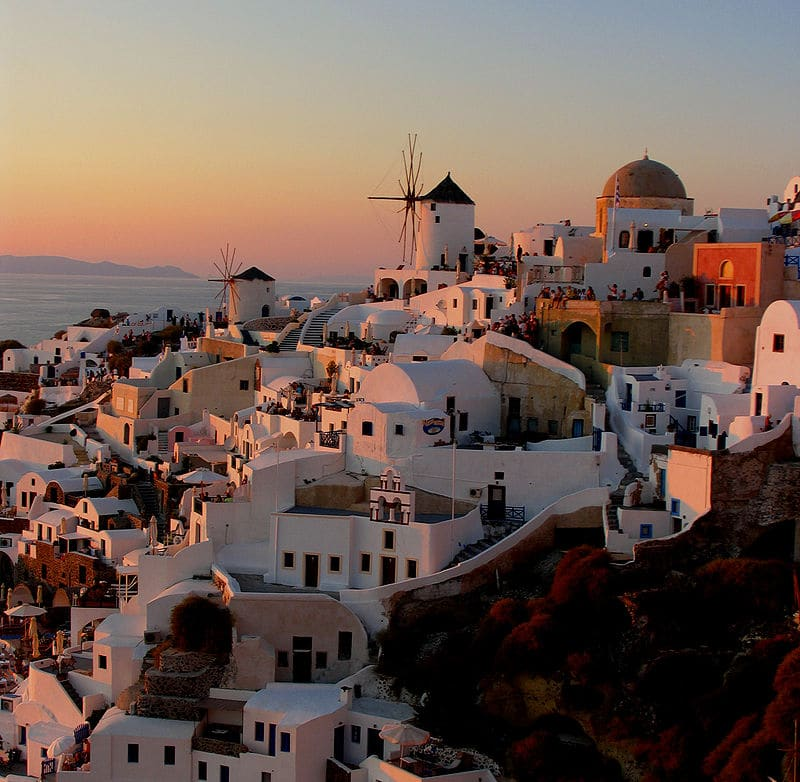 Oia Greece Summer Capital of the World