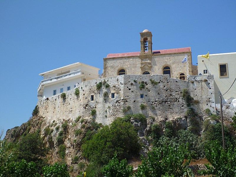Μονή Παναγίας Χρυσοσκαλίτσας, Χανιά
